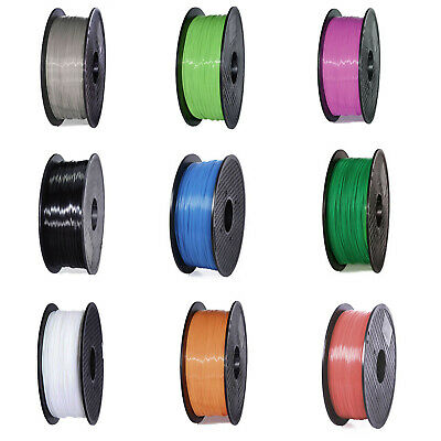 3D Printer Filament PLA 1.75mm - 1Kg multiple Colours FDM FR