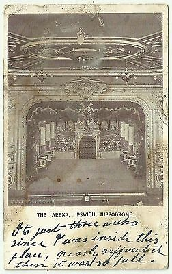 Suffolk postcard Ipswich Hippodrome the Arena