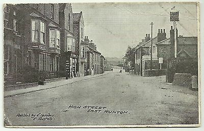 Norfolk postcard East Runton High Street