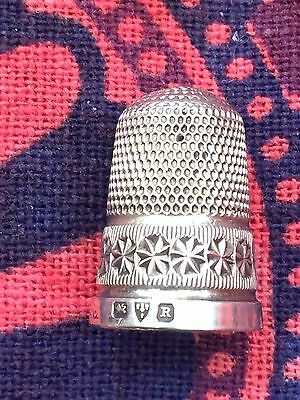 Chester 1900 Charles Horner Silver Thimble