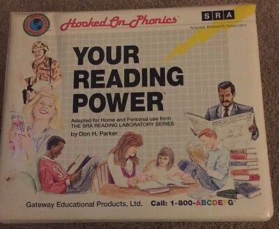SRA Hooked On Phonics Your Reading Power