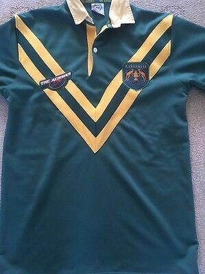 Australia Rugby League Shirt Size Large Excellent Condition.