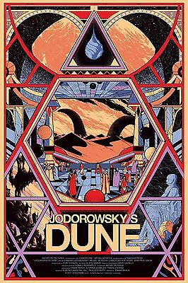 Jodorowsky's Dune Poster A4 A3 A2 A1 Cinema Movie Film Large Format