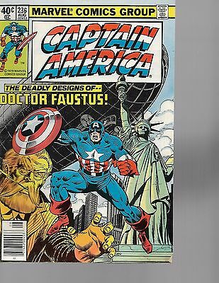 captain america  6 comic lot  marvel  1978  FREE SHIPPING