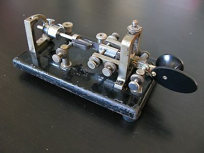 Vibroplex Original And Case Morse/Telegraph Key.