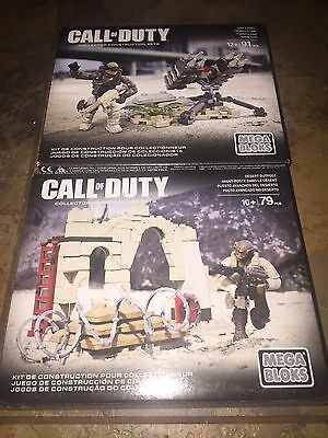 Mega Bloks Call Of Duty Desert Outpost And Sam Turret