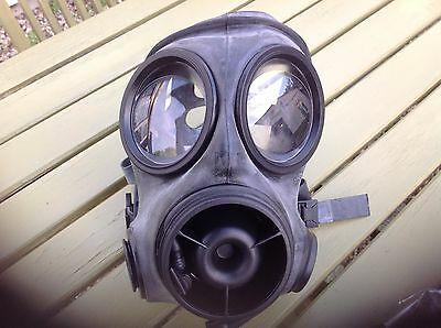 British army gas mask and accessories