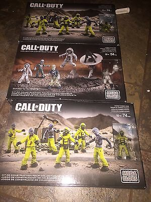 Call Of  Duty Mega Bloks Zombie Horde 3pk