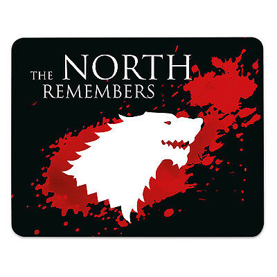 Mousepad - Game of Thrones - THE NORTH REMEMBERS - Mauspad - GOT