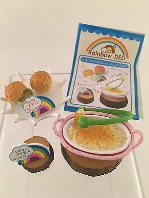 Re-ment Miniature 1/6 scale Rainbow Deli #4 Mashed Potatoes Puff Pastry Soup