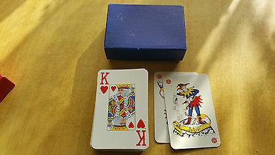 Braille Playing cards for the blind with box.  Set 2