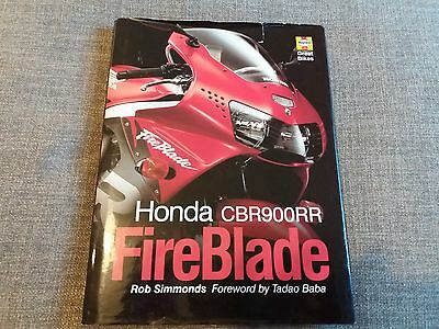 Haynes – Honda CBR900RR FireBlade by Rob Simmonds