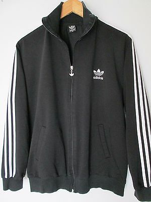 Adidas Vintage Old School Jacket / Tracksuit Top Size Approx  M
