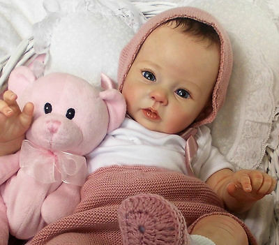 """RAVEN by Ping Lau ~ 20 """"  Reborn Doll KIT~ VERY HARD TO FIND!!!"""
