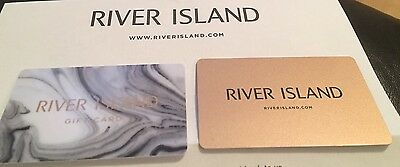river island gift card Value £52