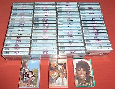 70 Thomsun Original Rock & Pop Cassette Tape Albums (Collection/job Lot)