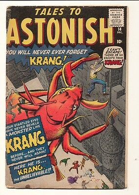 Tales to Astonish (1959 series) #14 in Very Good condition. FREE bag/board