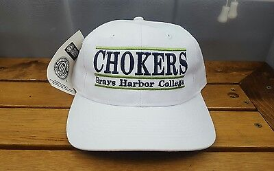 4d64cbb801d ... coupon for chokers snapback hat cap 90s grays harbor college the game  ncaa new with tag