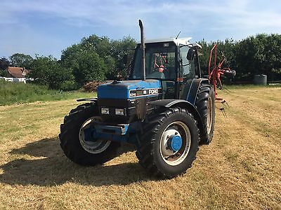 Ford Tractor 8340, New Holland