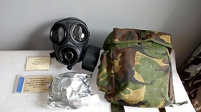S 10 Gas Mask Size 2 Respirator With Sealed Cartridge With Bag