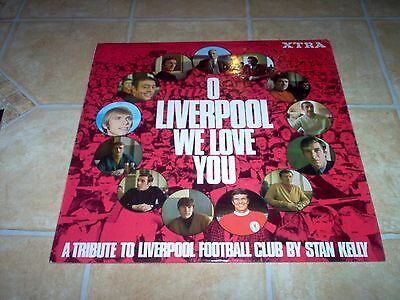 O Liverpool We Love You . Stan Kelly . LP Record . XTRA 1076