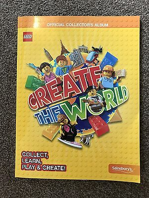 Lego Create the World Trading Cards Book. Official Collectors Book. Brand new!