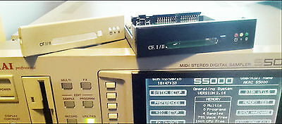 Akai S1100 or S1000 - INTERNAL HOTSWAP COMPACT FLASH KITS