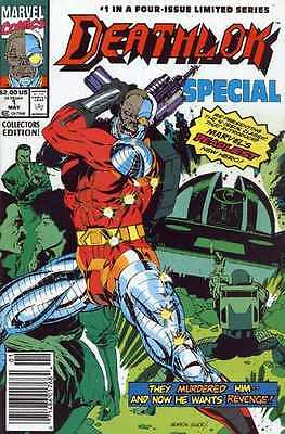 Deathlok Special #1 in Near Mint - condition. FREE bag/board