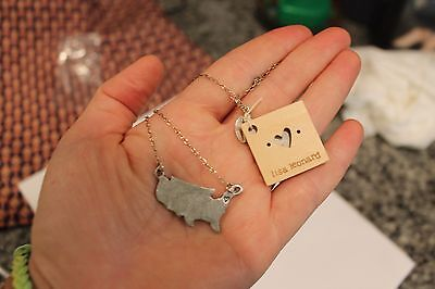 Lisa Leonard necklace State of My Heart New England NWT