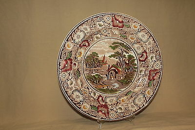 """W.r. Midwinter Rural England 12 1/2"""" Charger Plate 5786"""