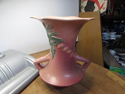 Vintage Roseville Art Pottery Art Deco Bleeding Heart Vase 969-8