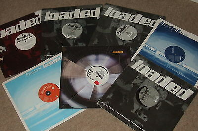 "7 x 12""  Loaded Records Collection           90's HOUSE / PROG!!"