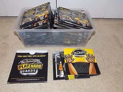 """(26) Packs Mike's Hard Lemonade Playing Cards. """"Make It Mike's"""" Brand New"""