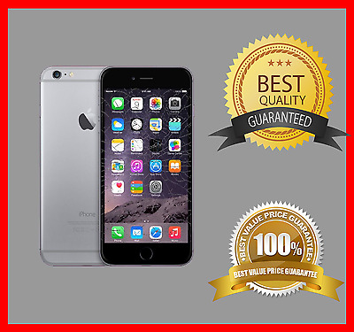 Apple iPhone 6 Plus Cracked Broken Glass and LCD Phone Screen Repair Service