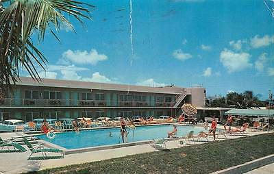 Blue Marlin Motel Key West Florida AAA heavy vertical crease