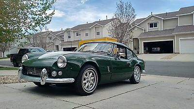 1968 Triumph GT6 GT-6 Fastback 2-Door Sports Coupe 1968 Triumph GT6 Sports Coupe, British Racing Green, LHD RWD Manual w/ Overdrive