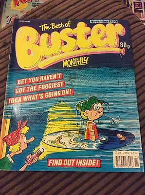 The Best Of buster Monthly , November 1990