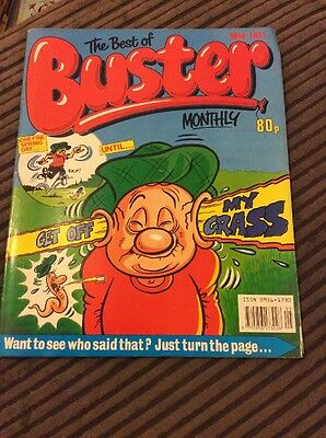 The Best Of buster Monthly , May 1991