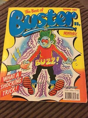 The Best Of buster Monthly , October 1991