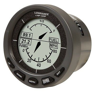 Lowrance LMF-400 Multi-function gauge only - New