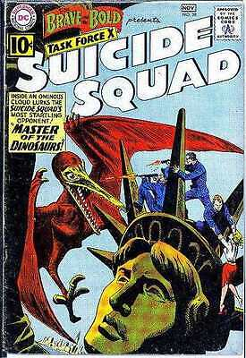 Brave and the Bold (1955 series) #38 in Very Good condition. FREE bag/board