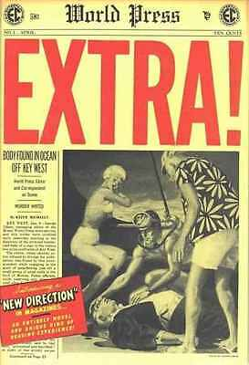 Extra! (1955 series) #1 in Fine condition. FREE bag/board