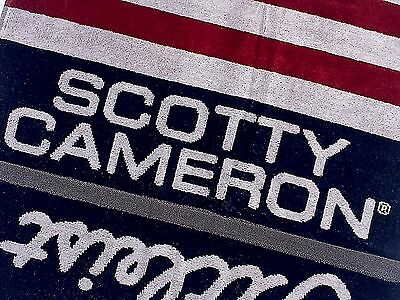 Scotty Cameron 2017 US OPEN STARS & STRIPES TOWEL ✨Now SOLD OUT✨1/250✨