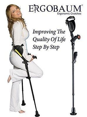 "Crutches- Latest Generation Ergobaum By Ergoactives. The ""Pain-free"" Crutch"