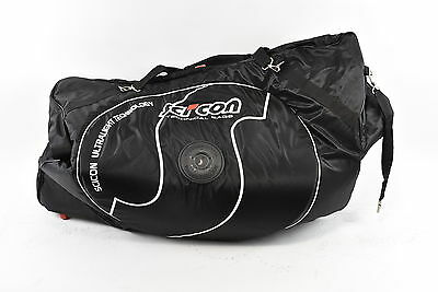 SciCon Aero Comfort 2.0 TSA Travel Bike Bag, Black
