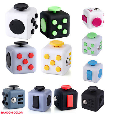 Lot 50PC Wholesale Magic Fidget Cube Toys Anxiety Stress Relief Focus Gift Adult