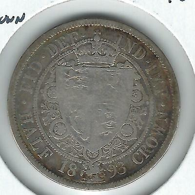 Great Britain Half Crown 1893 circulated