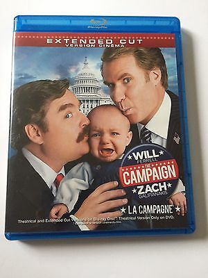 The Campaign (Blu-ray/DVD, 2012, 2-Disc Set)