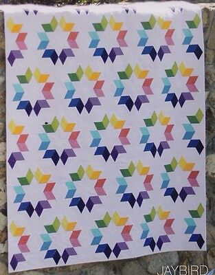 Cookie Cutter - fabulous modern pieced quilt PATTERN - Jaybird
