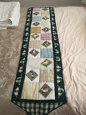 Table / Bed Runner  handmade- Patchwork
